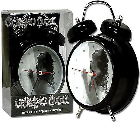 Orgasmo Clock Budík